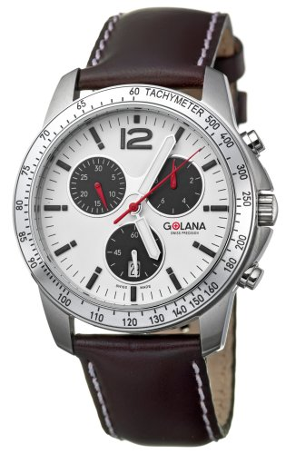 Golana Terra Pro Swiss Made All Terrain Chronograph Mens Watch TE200.4