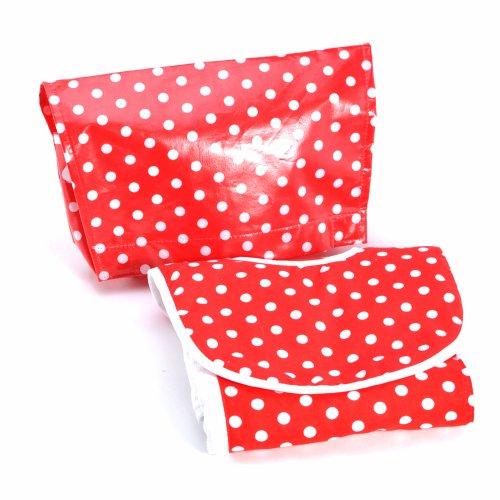 Infantissima Roadie Diaper Bag, Dot Red