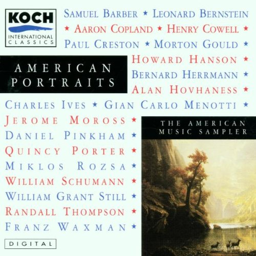 ... by Charles Ives,&#32;Morton Gould,&#32;Randall Thompson,&#32;Daniel Pinkham and Alan Hovhaness