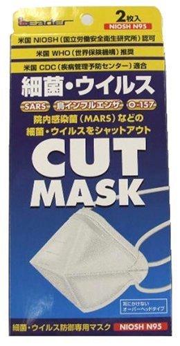 ウイルス防御専用 マスク2枚入