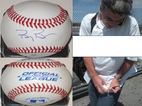 Billy Beane signed baseball