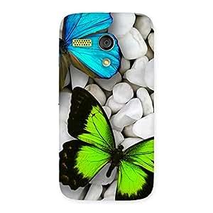 Radiant Butterflies Designer Back Case Cover for Moto G