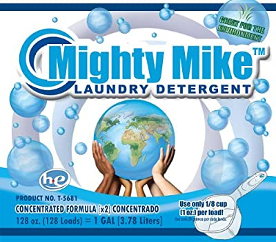 Mighty Mike T5681 Liquid Laundry Detergent - 1 Gal 128-Ounce