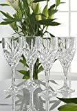 Galway Irish Crystal Tralee Wine Goblets - Delivery from Ireland within 6-9 Days