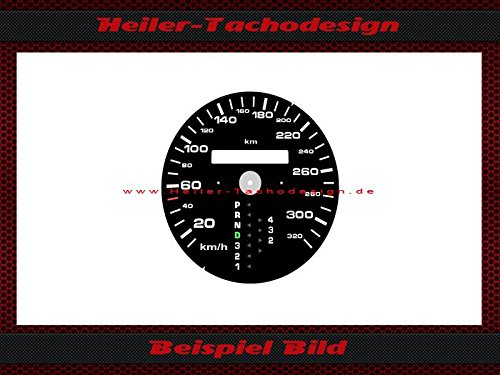 Tachoscheibe Porsche 911 964 993 Automatik 320 Km/h