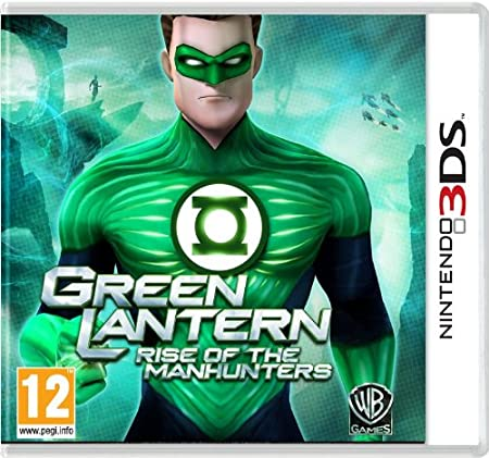 Green Lantern: Rise of the Manhunters (Nintendo 3DS) [Importación inglesa]