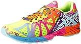 ASICS Womens Gel-Noosa Tri 9 Running Shoe,Flash Yellow/Turquoise/Berry,7.5 M US