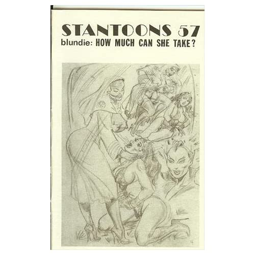 Stantoons 57, Blunder Broad, Blundie: How Much Can She