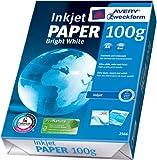 Avery Zweckform 2566A Inkjet Druckerpapier A4, 100 g/m², 500 Blatt, satiniert, hochweiß (Optimierte Schutzverpackung)