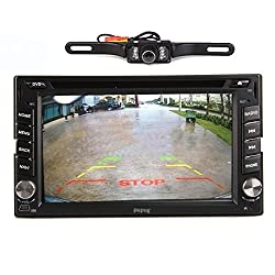 See Pupug Rear Camera Included 6.2 inch Capacitive Android 4.2 Double Din In Dash HD Multi-touch Screen Car DVD Player GPS Navigation Stereo AM/FM Radio Support Bluetooth/SD/USB/ipod/AV-IN/3G/Wifi/DVR Details
