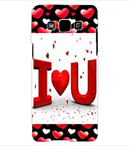 ColourCraft Love Quote Design Back Case Cover for SAMSUNG GALAXY A3