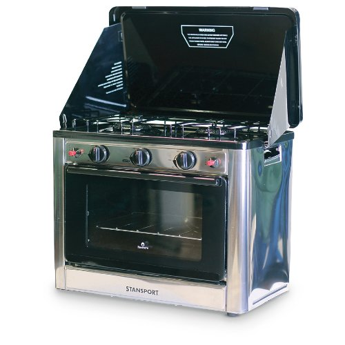Stansport Propane Outdoor Camp Oven and 2 Burner Range (Oven Propane compare prices)
