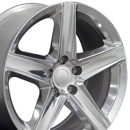 20x9 Wheel Fits Jeep Grand Cherokee - Grand Cherokee Style Polished Rim (Jeep Cherokee Wheels And Rims compare prices)