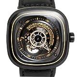 (セブンフライデー) SEVENFRIDAY 腕時計 メンズ SFP2/02-C0211 ブラック×ゴールド [並行輸入品] [時計] [時計]