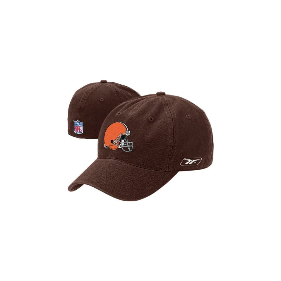 1e6a4ff9b453e Cleveland Browns Brown Helmet Logo Fitted Sideline on PopScreen