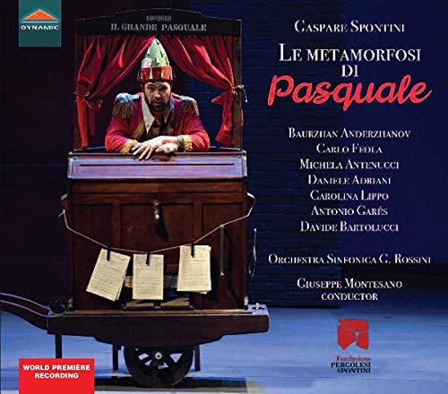 CD : SPONTINI / FEOLA / MONTESANO - Metamorfosi Di Pasquale (2 Discos)