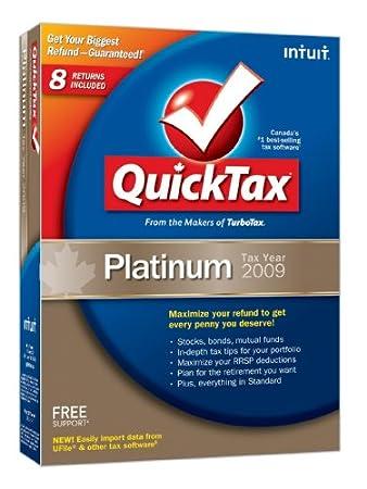 QuickTax Platinum 2009 [Old Version]