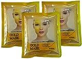 Skin Doctor Glod Mask For Skin Whitening, Lightening, Moisturizing (Pack of 3) - 40gm