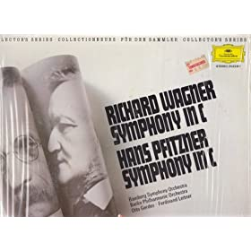 Wagner Symphony in C / Pfitzner Symphony in C