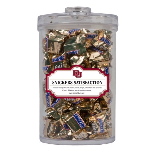 Denver Snickers Satisfaction Large Round Canister 'Du'