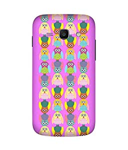 Stripes And Elephant Print-11 Samsung Galaxy Ace 3 Case