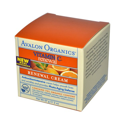 Avalon Vitamin C Renewal Cream 3X 2 Oz