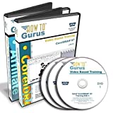 Corel Draw CorelDRAW X7 Tutorial Training & Tiger Affiliate Training on 3 DVDs