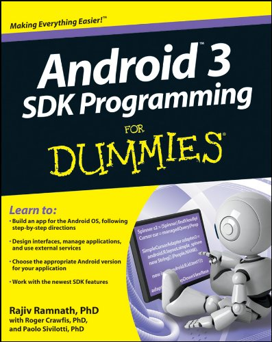 Android 3 SDK Programming For Dummies (For Dummies (Computer/Tech))