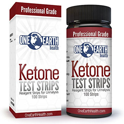 100 Count One Earth Health Advanced Ketone Test Strips + Bonus Food Chart Sent via Email (Food Test compare prices)