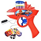 Spider-Man Toy Set - Marvel Foam Disc Shooter and Dog Tags