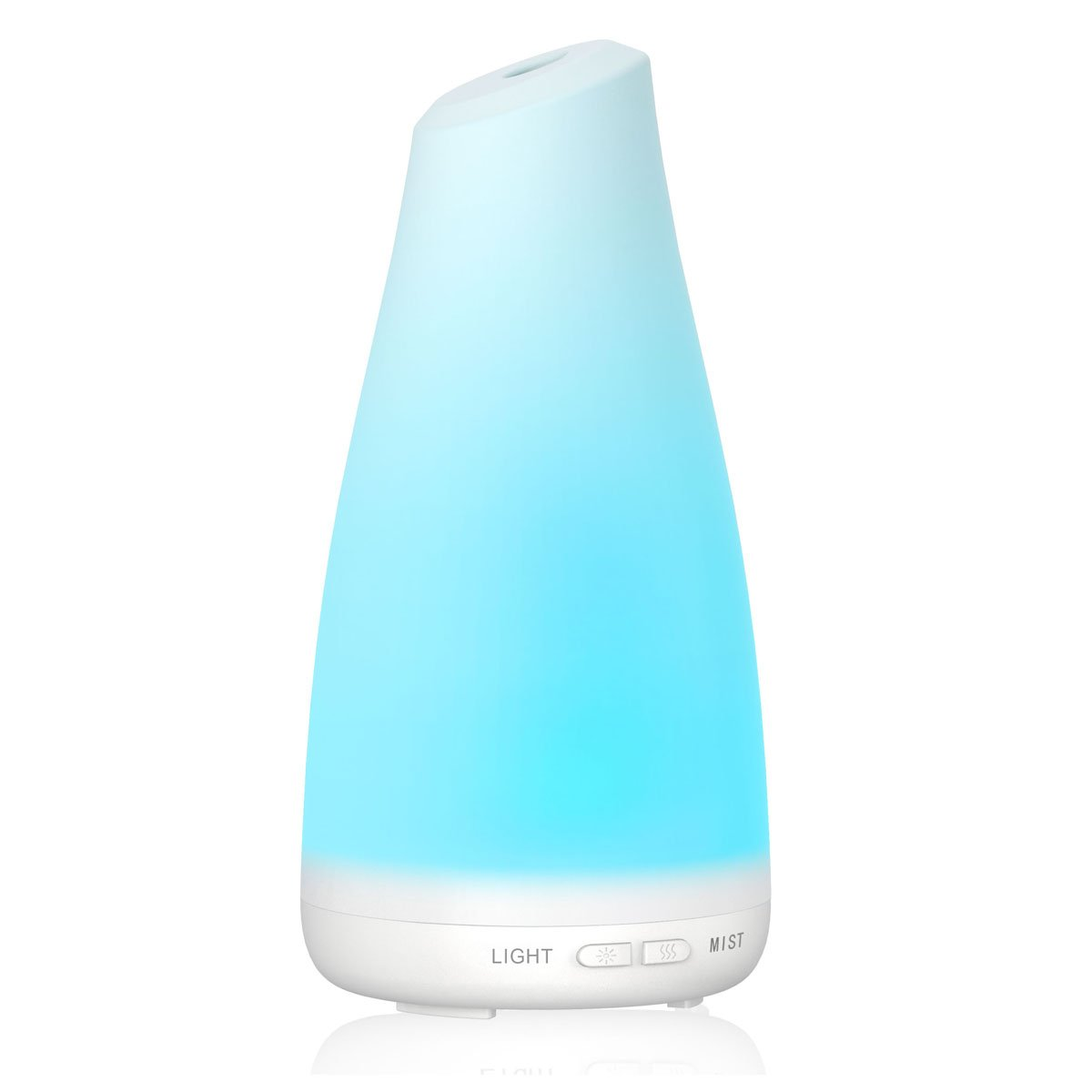 InnoGear® 100ml Aroma Essential Oil Diffuser Electric Ultrasonic Cool Mist Humidifier with 7 Color Changing LED Lights and Auto Shut-off Function for Room Office Home Baby