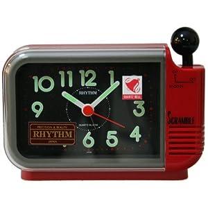 Despertador Rhythm 4ra760r01 Alarma Sonido Campana de Rhythm