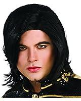 Michael Jackson Long Straight Wig