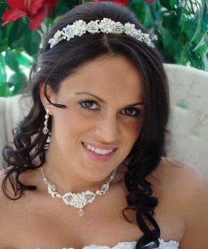 Silver-Swarovski-Crystal-Freshwater-Pearl-Wedding-Bridal-Headband-by-Fairytale-Bridal-Tiara