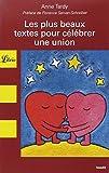 Les plus beaux textes pour célébrer une union