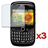 3 LCD SCREEN PROTECTOR For Sprint Blackberry 8530 Curve