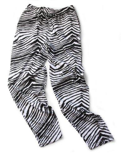Zubaz Pants: Large Black/White Zubaz Zebra Pants