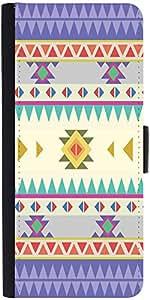 Snoogg Aztec Pattern Purpledesigner Protective Flip Case Cover For Samsung Ga...