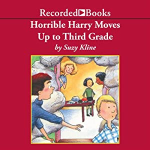 Horrible Harry Moves Up to Third Grade Audiobook