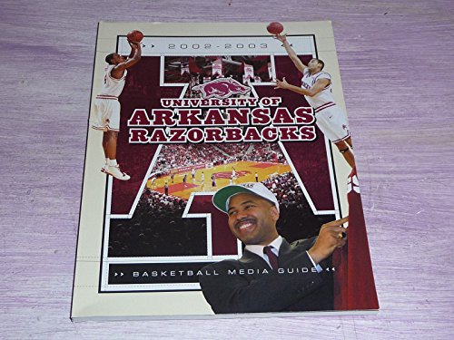 2002 2003 UNIVERSITY OF ARKANSAS COLLEGE BASKETBALL MEDIA GUIDE EX-MINT (Arkansas Basketball Tickets compare prices)