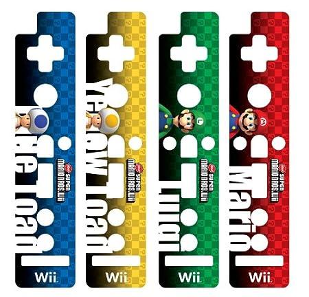 HORI Wii Remote Decoractive Skin - Super Mario Bros. Version D
