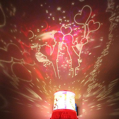 Zcl Diy Kiss Romantic Galaxy Starry Sky Projector Night Light For Celebrate Christmas Festival