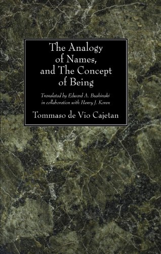 The Analogy of Names, and the Concept of Being: PDF