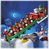Fisher Price Twas the Night Before Christmas Reindeer Story Set