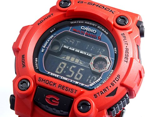 Casio CASIO G shock g-shock wave solar wristwatch watch GW 7900RD-4 [parallel import goods]