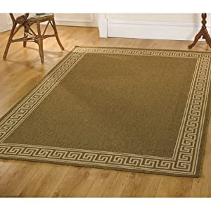 6 Sizes Available - Florence - Lorenzo Natural - Good Quality Flatweave Rug by Flair Rugs