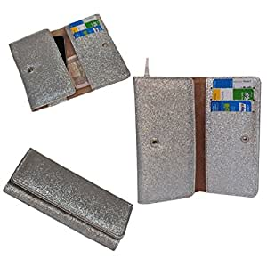 Ding Dong PU Leather Mobile Wallet Flip Pouch Case Cover For Karbonn Titanium S99 available at Amazon for Rs.289