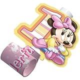 Minnie's 1st Birthday Blowouts 8ct