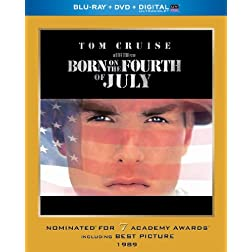 Born on the Fourth of July (Blu-ray + DVD + Digital with UltraViolet)