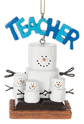 Smores Teacher Ornament